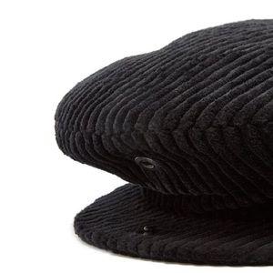 isabel marant corduroy gabor hat in black NWT